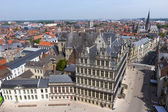 Ghent Town Hall — Stock Photo