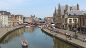 Ghent city centre — Stock Photo