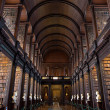 The Long Room in the Trinity College Library — Stock Photo #43099349