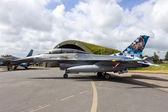Belgian AF F-16 — Stock Photo