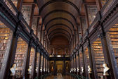 The Long Room in the Trinity College Library — Stock Photo