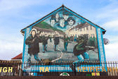 Mural Belfast — Stock Photo