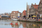 Ghent Belgium — Stock Photo