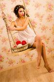 O vestido — Fotografia Stock