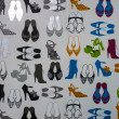 Shoes pattern — Stock Photo #30504613