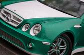 Modello di auto mercedes-benz — Foto Stock