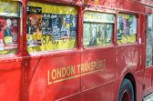 Londra otobüsü — Stok fotoğraf