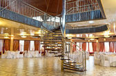 Banquet hall with stairs — Stock Photo
