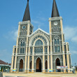 The Cathedral of The Immaculate Conception Chanthaburi — Стоковая фотография