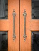 古いドア ハンドル — ストック写真