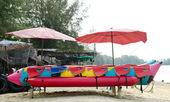 Banana boat lays — Stock Photo