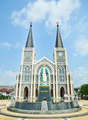 The Cathedral of The Immaculate Conception Chanthaburi — Stock Photo