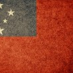 Flag of Samoa — Stock Photo #34909737