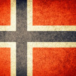 Flag of Norway — Stock Photo #34908709