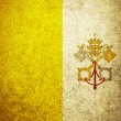 Flag of Vatican  — Stock Photo