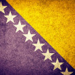 Flag of Bosnia — Stock Photo