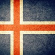 Flag of Iceland — Stockfoto #34908885
