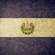 Stock Photo: Grunge Flag of El Salvador