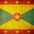 Photo: Grunge Flag of Grenada
