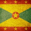Grunge Flag of Grenada — Stockfoto