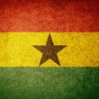 Grunge Flag of Ghana — Stock Photo #34909103
