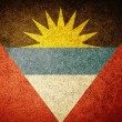 Grunge Flag of Antigua and Barbuda — Stock Photo #34909263