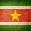 Grunge Flag of Suriname — Stock Photo #34909377