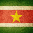 Stock Photo: Grunge Flag of Suriname