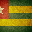 Grunge Flag of Togo — Stock Photo #34909399