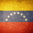 Stock Photo: Grunge Flag of Venezuela