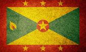 Grunge Flag of Grenada — Stock Photo