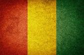 Flag of Guinea — Stock Photo