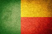 Flag of Benin — Stock Photo