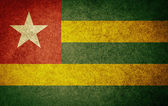 Grunge Flag of Togo — Stock Photo
