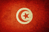 Grunge Flag of Tunisia — Stock Photo