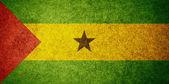 Flag of Sao Tome and Principe — Stok fotoğraf