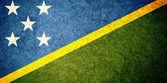 Flag of Solomon Islands — Stock Photo