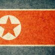 Grunge Flag of North Korea — Foto de Stock   #34910451