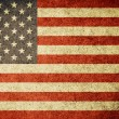 Grunge Flag of United States of America — Stockfoto