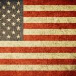 Grunge Flag of United States of America — Stock Photo