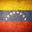 Grunge Flag of Venezuela — Stock Photo