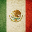 Grunge Flag of Mexico — Stock Photo