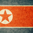 Grunge Flag of North Korea — Stock Photo #34910451