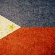 Stock Photo: Grunge Flag of Philippines