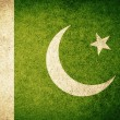 Grunge Flag of Pakistan — Stock Photo