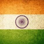 Grunge Flag of India — Stock Photo