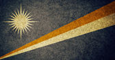 Flag of Marshall islands — Stock Photo