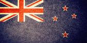 Grunge Flag of New Zealand — Stock Photo