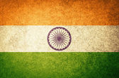 Grunge Flag of India — Stock Photo
