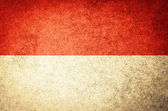 Grunge Flag of Indonesia — Stock Photo